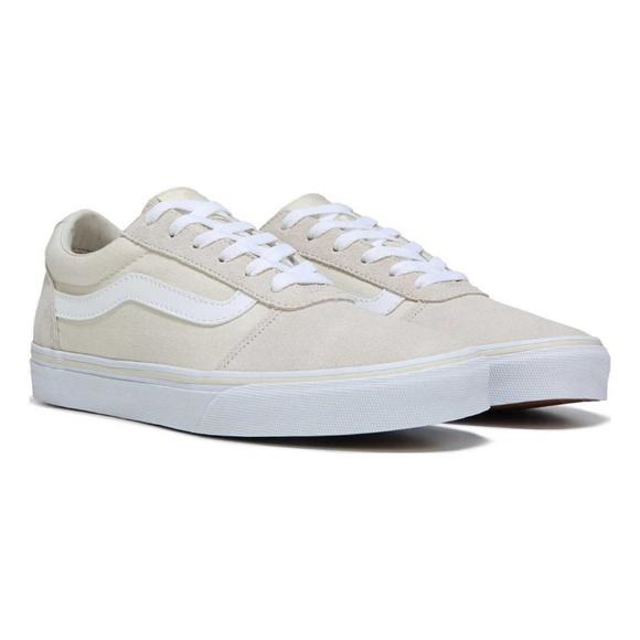 54728181895 Vans Ward Canvas Suede in Birch White